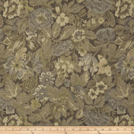 Robert Allen Promo Partridge Tapestry Jacquard Platinum Fabric