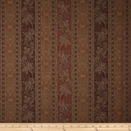 Robert Allen Promo Pearlridge Jacquard Chocolate Fabric