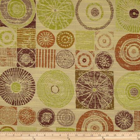 Robert Allen Promo Pennywhistle Jacquard Kelp Fabric