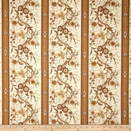 Robert Allen Promo Pierette Sateen Wheat Fabric