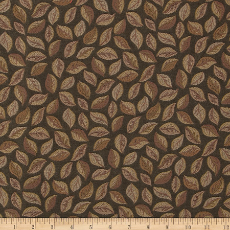 Robert Allen Promo Scattered Jacquard Truffle Fabric