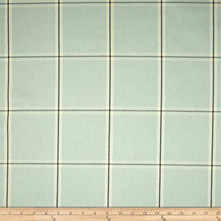 Robert Allen Promo Simple Plaid Woven Twill Ice Fabric