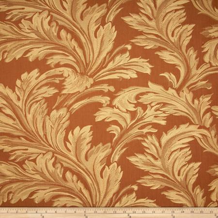 Robert Allen Promo St Martin Jacquard Bronze Fabric