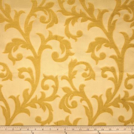 Robert Allen Promo Tessla Jacquard Goldenrod Fabric