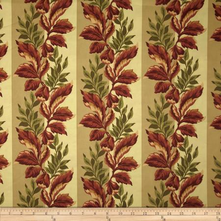 Robert Allen Promo Vero Stripe Gold Fabric