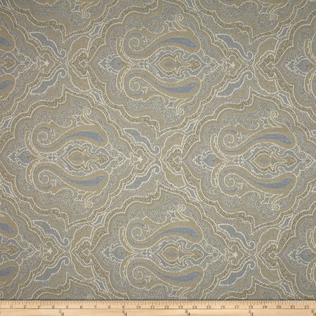 Robert Allen @ Home Worldly Jacquard Mineral Fabric By The Yard