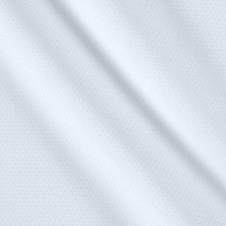 Kaufman White Shirt Silky Dobby Chain Link White Fabric By The Yard