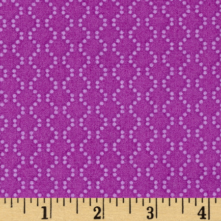 Rumble Dotted Chain Purple Fabric