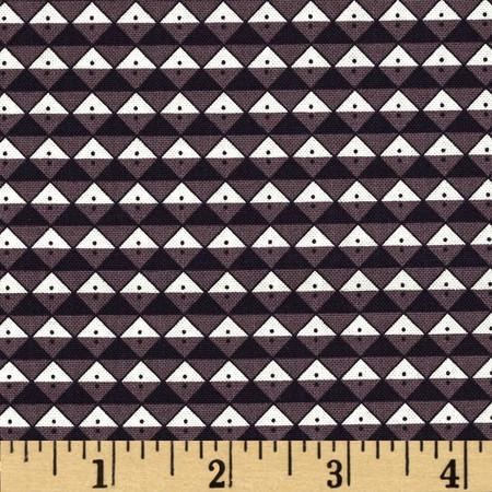 Scrap Happy Diamond Allover Lilac Fabric