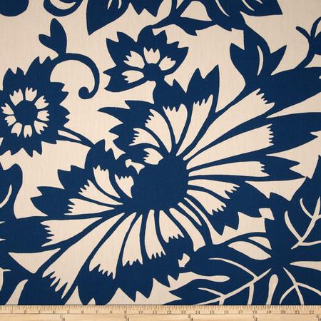 Seedlings by Thomas Paul Copenhagen Twill Blue Fabric By The Yard