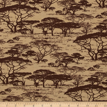 Serengeti Serengeti Tan Fabric