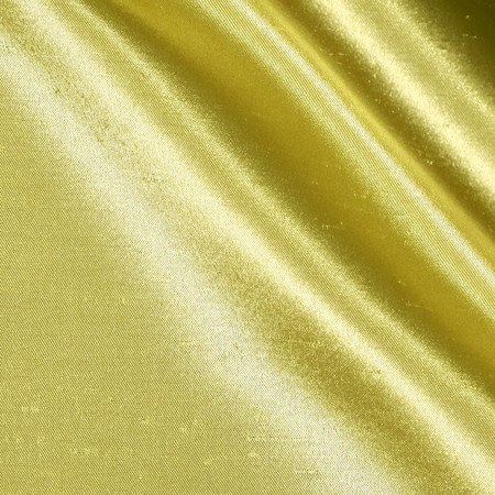 Shantung Sateen Yellow Fabric