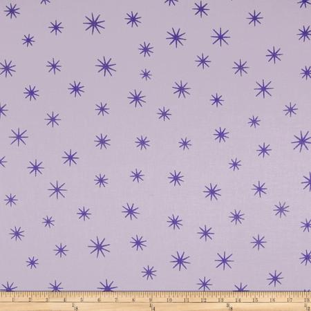 Shining Star Glitter Lilac Fabric By The Yard