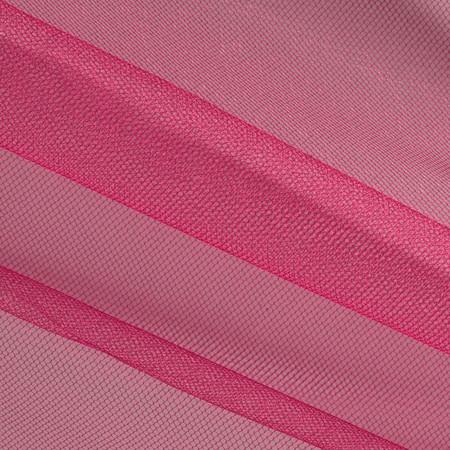 Shiny Tulle Fuchsia Fabric
