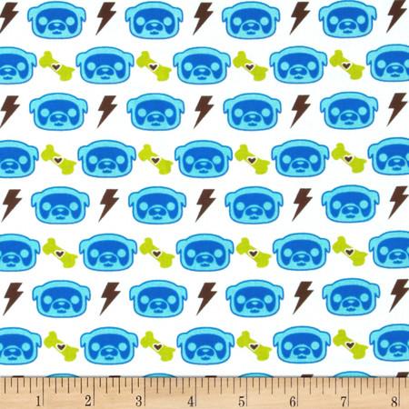 Skelanimals Max & Bolt Blue Fabric