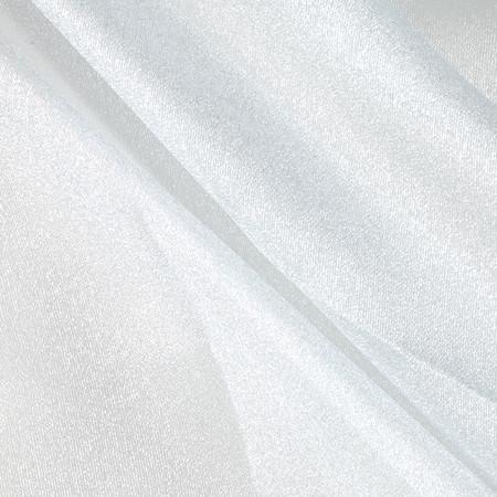 Sparkle Organza Ice Blue Fabric