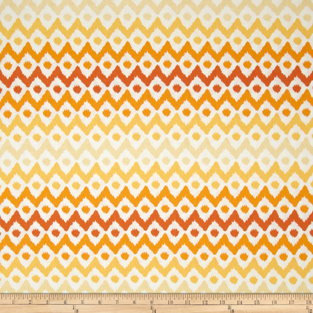 Spectrum Ikat Chamomile Fabric