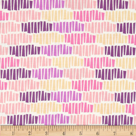 Spectrum Tessellation Wildberry Fabric