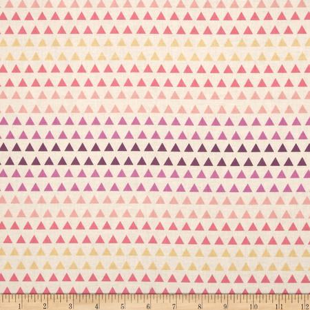 Spectrum Triangle Gradient Wildberry Fabric