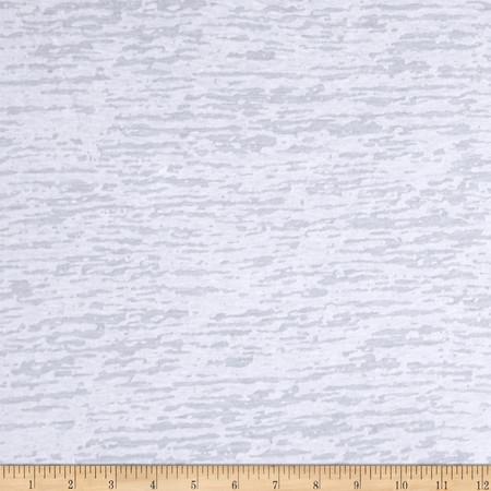 Splash Burnout Jersey Knit White Fabric By The Yard