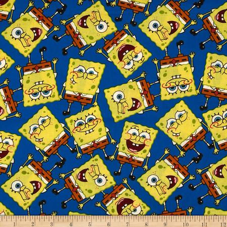 Spongebob Packed Fabric