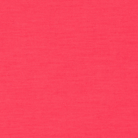 Spun Poly Jersey Knit Solid Neon Pink Fabric By The Yard