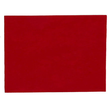 Stick'rz Felt 9'' x 12'' Craft Cut Red