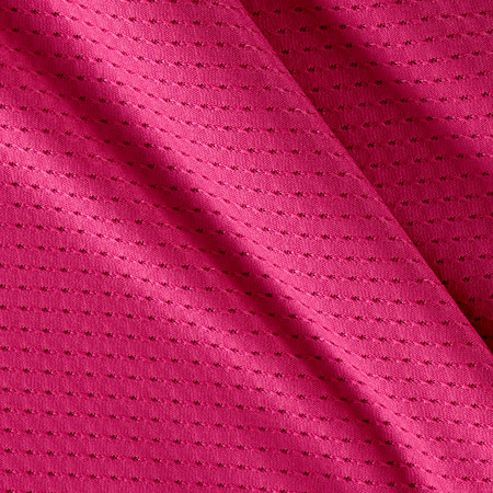 Stretch Athletic Mesh Knit Hot Pink Fabric