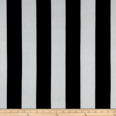 Stretch ITY Jersey Knit Classic Black And White Fabric By The Yard