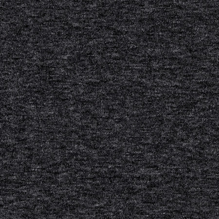 Stretch Jersey Knit Solid Charcoal Fabric