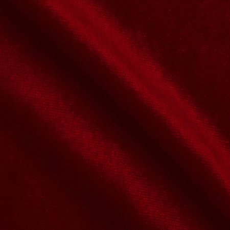 Stretch Velvet Knit Red Fabric By The Yard