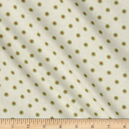 Sultans Garden Reyna Ditsy Apricot Fabric
