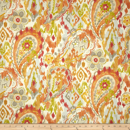 Swavelle/Mill Creek Ardina Paisley Twill Garden Fabric