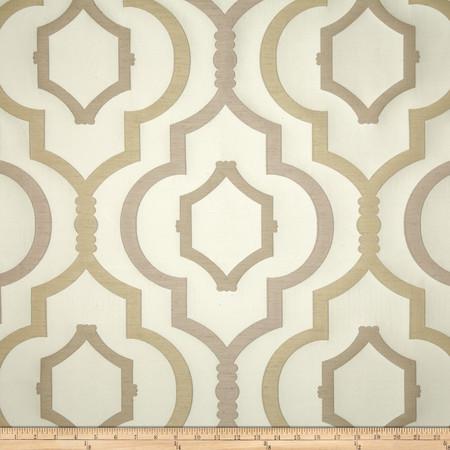 Swavelle/Mill Creek Galatia Jacquard Natural Fabric