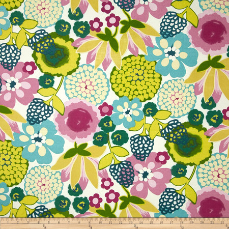 Swavelle/Mill Creek Indoor/Outdoor Darnay Very Berry Fabric By The Yard