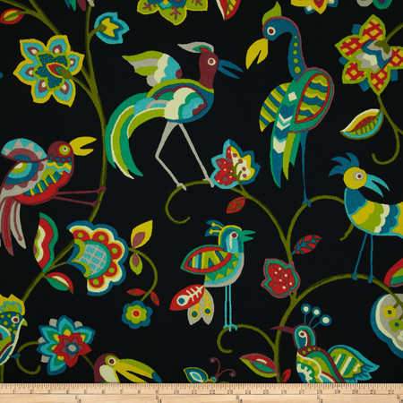 Swavelle/Mill Creek Indoor/Outdoor Featherheads Jungle Fabric By The Yard