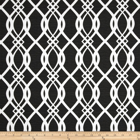 Swavelle/Mill Creek Indoor/Outdoor Hedda Tuxedo Fabric By The Yard