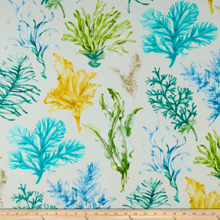 Swavelle/Mill Creek Indoor/Outdoor Jeju Screen Opal Fabric By The Yard