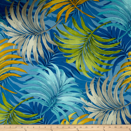 Swavelle/Mill Creek Indoor/Outdoor LaPerta Screen Caribbean Fabric By The Yard