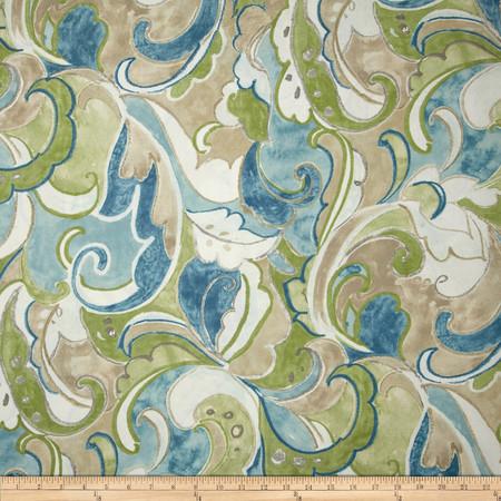 Swavelle/Mill Creek Indoor/Outdoor Leena Dew Fabric By The Yard