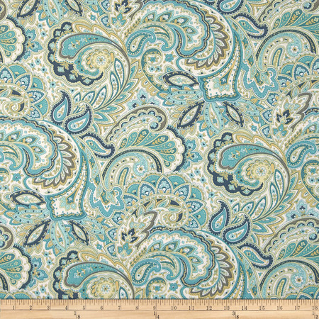 Swavelle/Mill Creek Indoor/Outdoor Maxime Aquarius Fabric By The Yard
