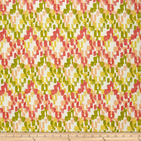 Swavelle/Mill Creek Indoor/Outdoor Ozbel Screen Sorbet Fabric By The Yard