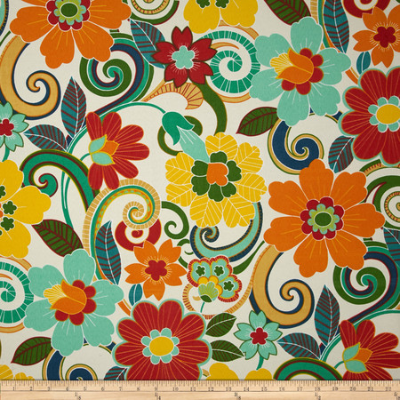 Swavelle/Mill Creek Indoor/Outdoor Rollingmeade Cosmo Fabric By The Yard