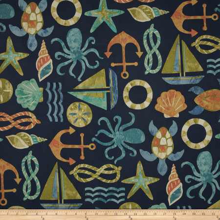 Swavelle/Mill Creek Indoor/Outdoor SeaPoint Neptune Fabric By The Yard