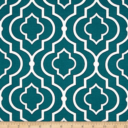Swavelle/Mill Creek Indoor/Outdoor Starlet Peacock Fabric