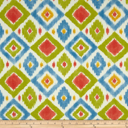 Swavelle/Mill Creek Indoor/Outdoor Thedra Screen Primary Fabric By The Yard