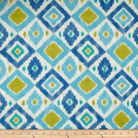 Swavelle/Mill Creek Indoor/Outdoor Thedra Screen South Seas Fabric By The Yard