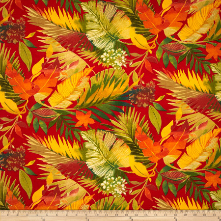 Swavelle/Mill Creek Indoor/Outdoor Tomesa Fireball Fabric By The Yard