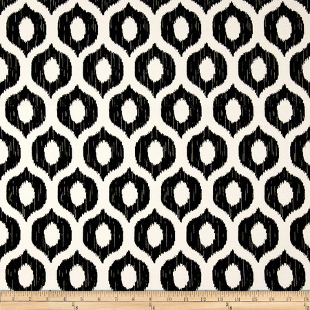 Swavelle/Mill Creek Indoor/Outdoor Vroome Licorice Fabric