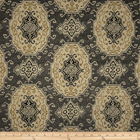 Swavelle/Mill Creek Matong Blend Charcoal Fabric